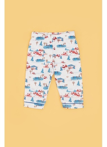 BG Baby Erkek Bebek Desenli Pijama Takımı 20Fw0Bg1805 Renkli